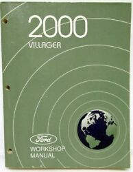 2000 Ford Mercury Villager Service Workshop Repair Manual Original
