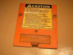 Case Ingersoll Tractor Mower 446 Dash Tower Cover Plate