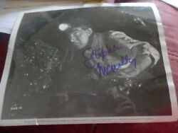 Stephen Mcnally - American Actor  - Autographed Photo