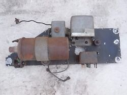 Porsche 901 911 Relay Panel Ignition Bosch Swb 1965 1966 Early