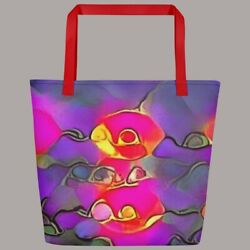 Melting Eyes on Rocks byToolooloo on a Tote Bag 16