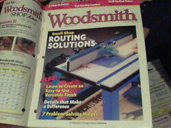 Woodsmith June/july 2011 Wine Rack, Four Poster Bed, Step Back Cupboard
