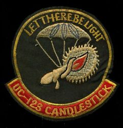 Usaf Uc-123 C-123 Candlestick Vietnam Special Operations Patch A-7