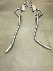 1958 Chevy Dual Exhaust System 304 Stainless With 283 Engines