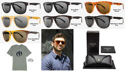 NEW Electric Leadbelly Ohm Cr39 Acetate Round Mens Sunglasses + Case Msrp$225