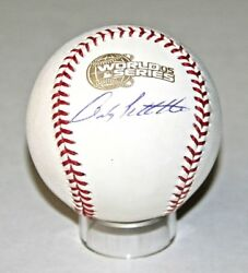 Andy Pettitte Signed Official 2005 World Series Baseball Psa/dna Z22196 Yankees