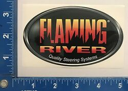 Flaming River Steering Systems Mid Sticker Rat Street Hot Rod Chevy Dodge Ford