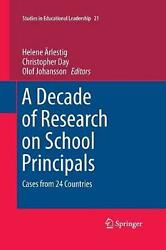 A Decade Of Research On School Principals Cases From 24 Countries English Pap