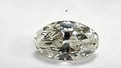 GIA Certificate 6.92ct Long Oval Shape L Color VS2 Clarity Loose Diamond