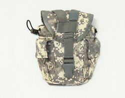 Acu Digital Camouflage Rothco 40114 Nylon Molle 1 Qt Canteen Utility Pouch New