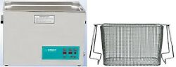 New Crest 7 Gallon Cp2600d Ultrasonic Heated Cleaner And Basket