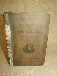 Antique Book The Career, Last Voyage, And Fate Of Captain Sir John Franklin-1860
