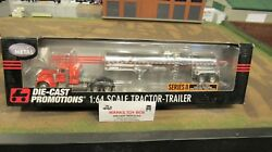 Dcp30758 A Tiger Lines Pete 379 Semi Truck Chemical Tank Tanker Trailer 164/fc