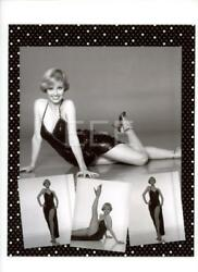 Sandy Duncan Contact Sheet Photographer Harry Langdon Embossed Stamp Photo 144L