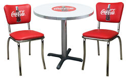 Coca-cola Diner Chair Chairs And Table Coke Bottle