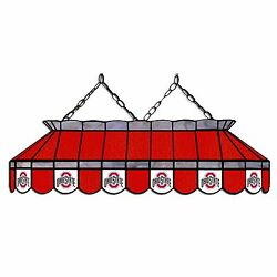 Ncaa Ohio State Buckeyes Osu 40 Stained Glass Pool Table Light-new