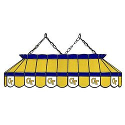 Ncaa Georgia Tech Yellow Jackets 40 Stained Glass Pool Table Light-new