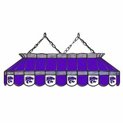 Ncaa Kansas State Wildcats 40 Stained Glass Pool Light - Nib - Made In Usa