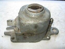 Antique Vintage Astrup Fanner Awning Worm Gearbox