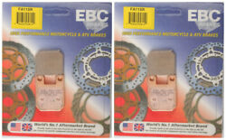 EBC R-Series Sintered Brake Pads FA115R (2 Packs - Enough for 2 Rotors)