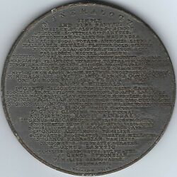 Great Britain Thomason's Scientific And Philosophical 1828 73mm Medal Inv3994.10