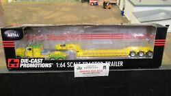 Dcp33566 Owner Operator Pete 379 Semi Cab Truck And Drop Lowboy Trailer 164/pl
