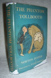 Norton Juster The Phantom Tollbooth First Edition 1st Print Epstein And Carroll