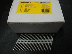 3 10d Ring Shank Stainless Steel Full Round Head Nails 20 21 22 Degree 4000