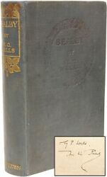 Wells H. G. - Bealby A Holiday - First Edition Presentation Copy To His Son