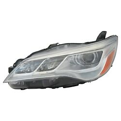 TO2502223OE New Driver Side Headlight Assembly