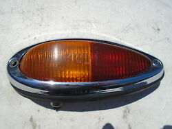 Porsche 356 Tail Lights Light Lamps Left Side Only Red Amber