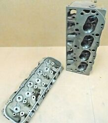 Gm 3904391 Bbc Square Port Cast Iron Heads 396/427 2.300/1.880 Dated K-21-66