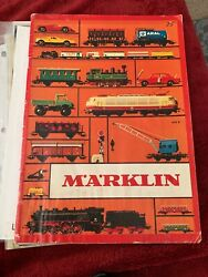 Vintage 1972 Marklin Magazine Toy Train Construction And Catalog Guide