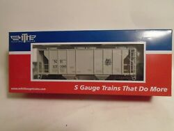 Mth S Scale 35-75052 New Haven Ps-2 Covered Hopper New In Box