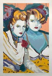 Colleen Ross Wish I May...   Hand Signed Serigraph   Coa   Others Available