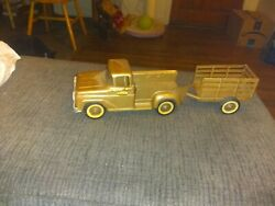 1960s Antique Tonka Truck And Trailer