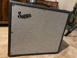 Supro Black Magick Electric Guitar Tube Amp. Mint Condition