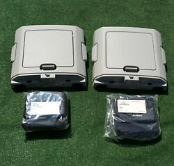New Oem Factory Ford F150 Overhead Roof Ceiling Dual Sliding Console Storage Kit