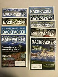 2008 Backpacker magazine complete year 9 issues $21.99