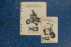 Vintage Dart Ridge Runner And Dart Cycle Manuals By Rupp Cool Find