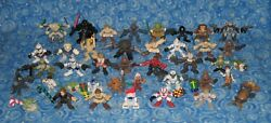 40 Star Wars Galactic Heroes Huge Lot of Action Figures with Durge Yoda Vader