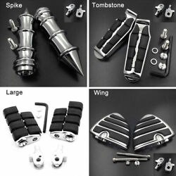 Front Or Rear Foot Pegs For Triumph Speedmaster Bonneville T100 / America 2-tone
