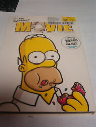 The Simpsons Movie Dvd, 2006 Pre-owned