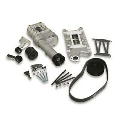 Weiand 77-174FSB-1 SB Ford 289-302 Engine Satin Powercharger Kit