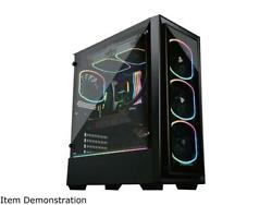 Enermax Starryfort Sf30 Addressable Rgb Tempered Glass Atx Mid Tower Gaming Pc C