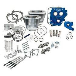 Sands Cycle 330-066x Power Package 110 Silver Big Bore Kit W/583 Chain Cams 07-17