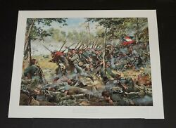 Don Troiani - Band Of Brothers - Collectible Civil War Print - Mint