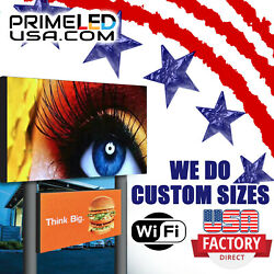 Led Sign Full Color P10mm Outdoor/indoor, 25.25 H X 50.5 W, Wifi+cellphone App