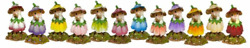Wee Forest Folk - Flower Mouse Of The Month Set M-640a-m-640l