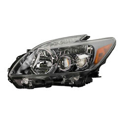 Driver Side Headlight Assembly; Led Bulbs; To 022010